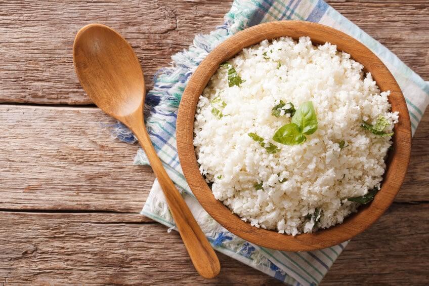 riz de chou fleur frais